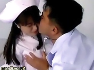 Asian Doctor And Nurse Foreplayi...