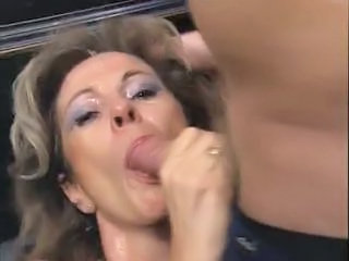 German European Wife German Blowjob Sperm