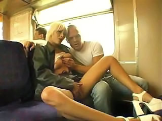 Public Sex In A British Train...