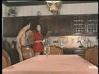 Kitchen MILF Vintage Milf Anal Masturbating Outdoor