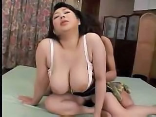 Rich hair over fat Japanese hookerâЂ™s cunt is her only advantage