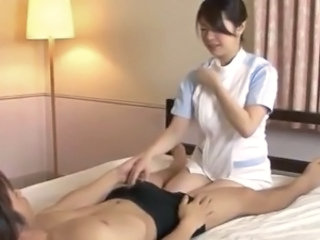 Handjob Nurse Uniform Handjob Asian Japanese Milf Japanese Nurse