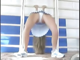 Flexible Sport Panty Cute Teen Flexible Teen Gym