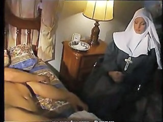 Nun Sleeping Vintage