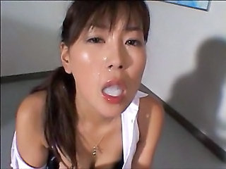 Avaler Cumshot Asiatique Ejaculation asiatique