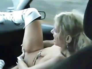 Car European Masturbating MILF European Erotic Massage