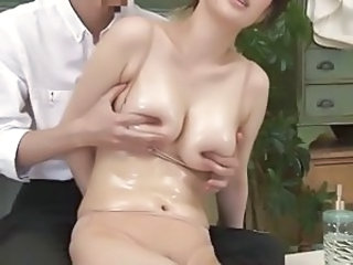 Oiled Nipples Natural Milf Asian