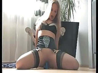 Sexy French lady FF stockings and heels