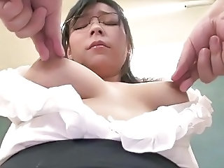 Asian Glasses  Milf Asian Milf Ass Milk