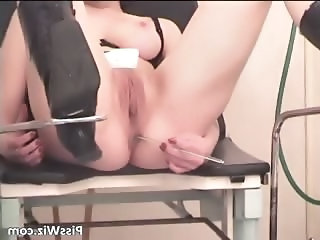Gorgeous redhead slut getting pussy part1