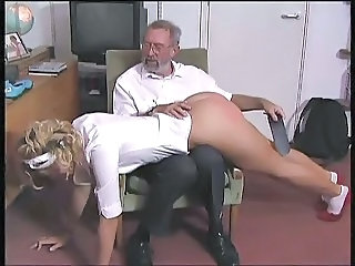 European Old And Young Spanking European Old And Young