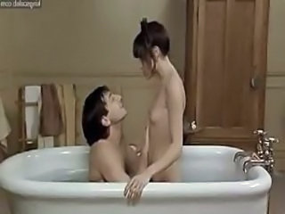 Marie Trintignant goes from taking a hot bath with her man to fucking him