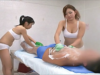 Japanese hot service spa