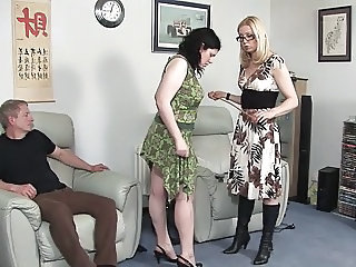 Spanking European Glasses  Threesome European Milf Ass Milf Threesome Niece Threesome Milf