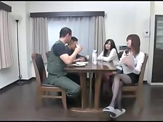 Sister Family Kitchen Asian Teen Family Japanese Teen