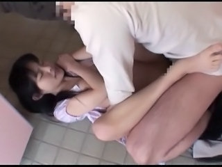 Japanese girl fucked in toilets