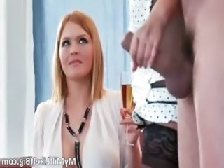 Hot big boobed blonde busty slut Karen part4