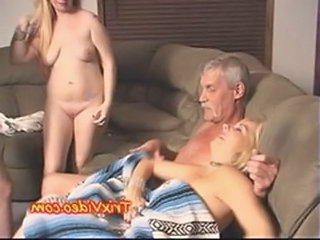 Family Old And Young Daddy Amateur Daddy Daughter
