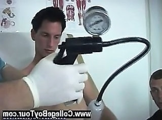 Hot gay Using a bit more lube, the doc went back to jerking off my