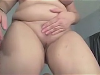 Big blonde bitch Tiffany Blake lets that cock do some exercise on her fat pussy