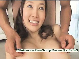 Mai Uzuki hot girl hot Chinese chick enjoys pussy licking and kissing