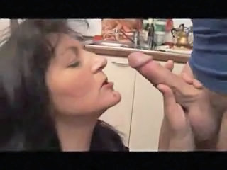 Blowjob European Italian Blowjob Mature Italian Mature Kitchen Mature