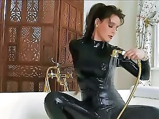 Latex Bathroom Fetish