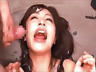 Facial Bukkake Asian Asian Cumshot