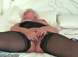 Chubby Clit European Granny Stockings European Grandma Granny Sex Granny Stockings Stockings