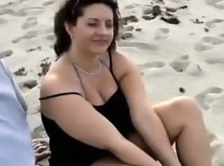 Beach BBW MILF Bbw Milf Outdoor