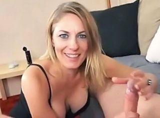 Mom Pov Handjob Beautiful Mom