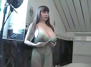 Yulia Photoshoot In Bathroom BVR
