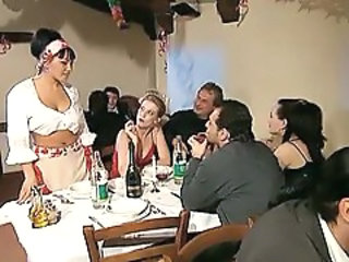 Swingers Italian Drunk Alien Drunk Party European
