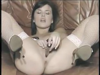 British slut elle plays with herself in various scenes