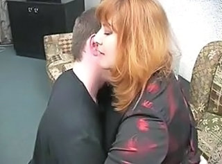 Russian Mom Redhead  Old And Young Russian Amateur
