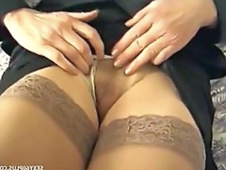 Pussy Milf Stockings Stockings