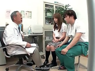 Doctor Old and Young Daddy Asian Teen Boobs Dad Teen