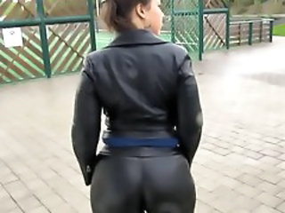 Ass Latex Outdoor Leather Outdoor Son