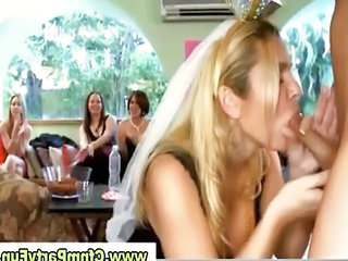 Blonde Bride Buffing The Knob