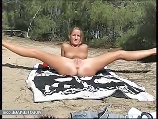 18 Years Old Blonde Teen Nudist