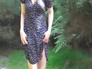 Wife Flashing In The Woods - Please Comment!