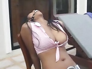 Busty Asian Titfucking