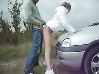 Clothed Car Public Girlfriend Amateur Outdoor Outdoor Amateur