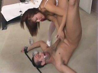Milked Man Eats His Own Cum!!! - By Tlh