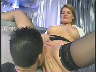 Mature Woman Teaching Young Boy...f70