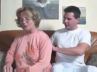 German Mom European Cumshot Mature European German