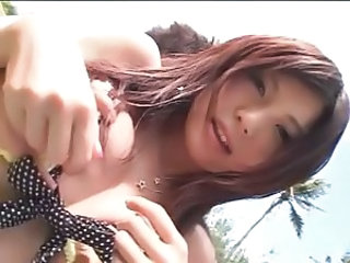 japanese cutie shaved outdoor sex