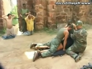 Forced Army Gangbang Forced