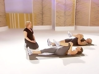 Davina McCall thon ass work out