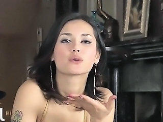 Popular Japanese hottie Maria Ozawa gives a cock a monster